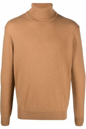 LARDINI Men Turtlenecks - Fine-knit roll-neck jumper
