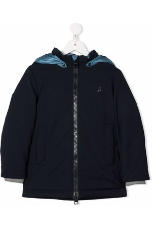 HERNO Boys Puffer Jackets - Zip-up hooded down coat