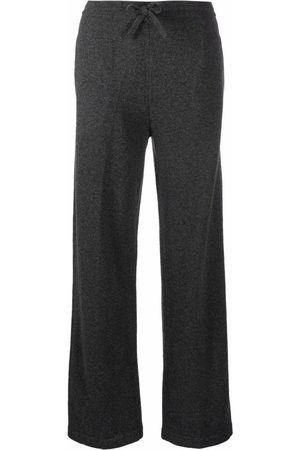 Isabel Marant Drawstring knitted trousers - Grey