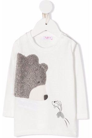 Il gufo Hoodies - Graphic-print crew neck sweatshirt