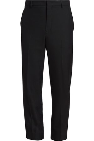 VALENTINO Men Formal Pants - Tailored Slim Cropped Trousers