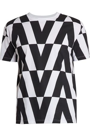 VALENTINO Optical Boxy V-Logo T-Shirt