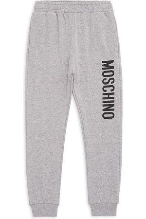 Moschino Little Kid's & Kid's Logo Cotton Sweatpants