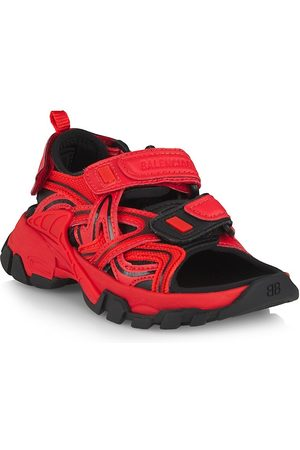 Balenciaga Sandals - Little Kid's & Kid's Track Double Touch-Strap Sandals