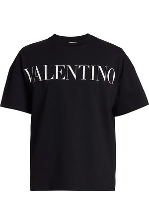 Valentino Men T-shirts - Contrast Logo T-Shirt