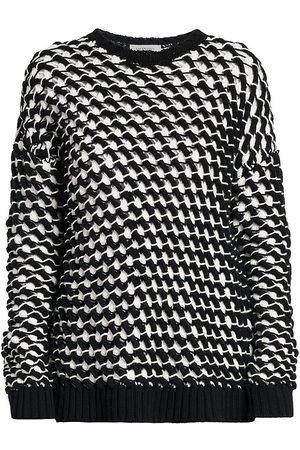 Valentino Women Sweatshirts - Oversized Crewneck Sweater