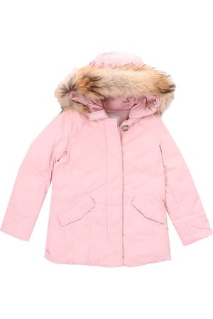 WOOLRICH Jacket Girls Rose nylon city fabric