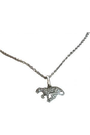 Cartier Panthère white gold necklace