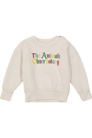 The Animals Observatory Baby printed cotton sweatshirt