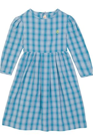 The Animals Observatory Bug checked cotton dress