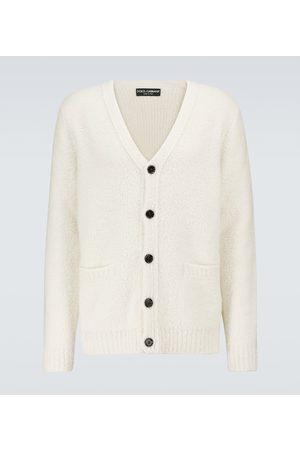 Dolce & Gabbana Cashmere and silk-blend cardigan