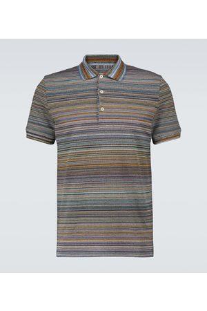 Missoni Short-sleeved cotton polo shirt