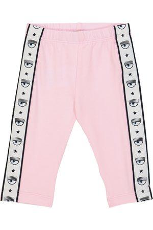 MONNALISA X Chiara Ferragni Baby stretch-cotton leggings