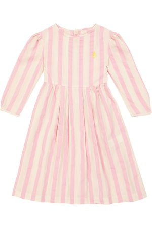The Animals Observatory Bug striped cotton dress