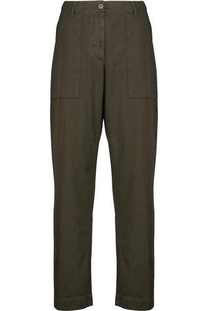 DRIES VAN NOTEN Straight cotton pants