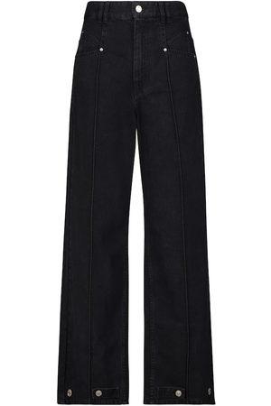 Isabel Marant Darlezi high-rise wide-leg jeans