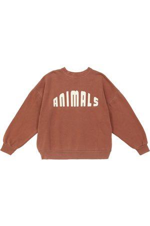 The Animals Observatory Big Bear cotton jersey sweatshirt