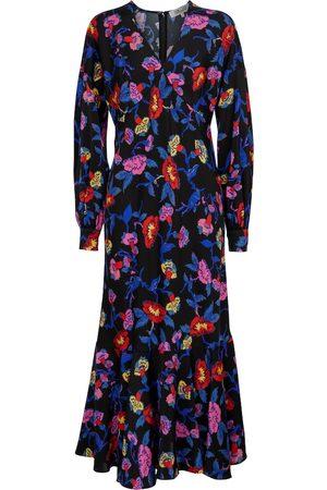 Diane von Furstenberg Luka floral midi dress