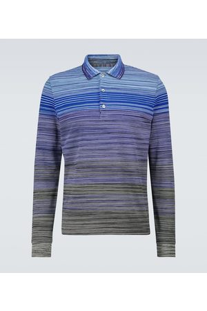 Missoni Long-sleeved cotton polo shirt