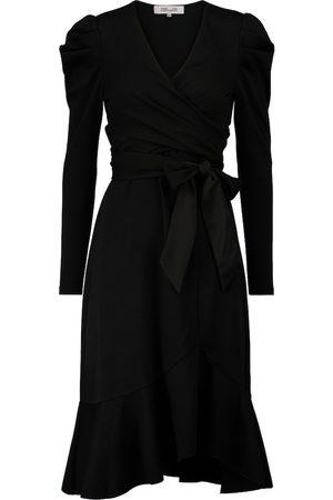 Diane von Furstenberg Sienna asymmetric wrap dress
