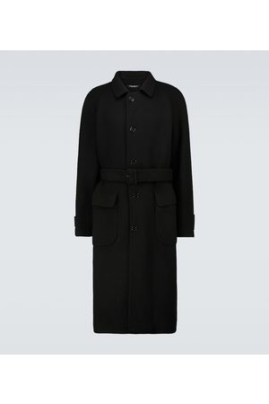 Dolce & Gabbana Belted knitted coat