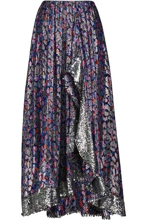Isabel Marant Women Maxi Skirts - Minessa silk-blend maxi skirt