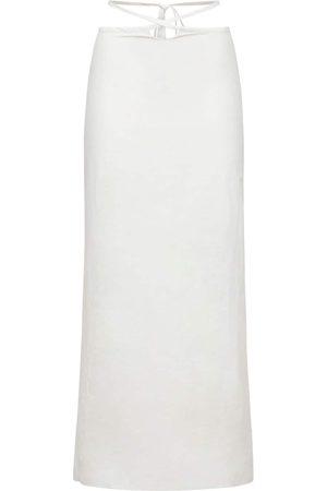 CHRISTOPHER ESBER Women Midi Skirts - Cotton & Nylon Midi Skirt