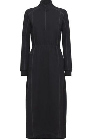 Y-3 Women Dresses - Half Zip Classic Track Dress