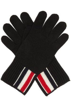 Thom Browne Stripe Intarsia Wool Gloves - Mens