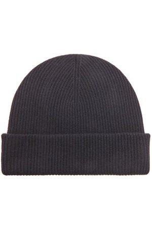 Raey Men Beanies - Knitted Recycled-cashmere Blend Beanie - Mens - Navy