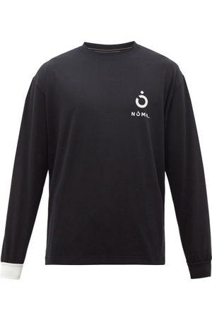Noma T.d Logo And Barcode-print Jersey T-shirt - Mens