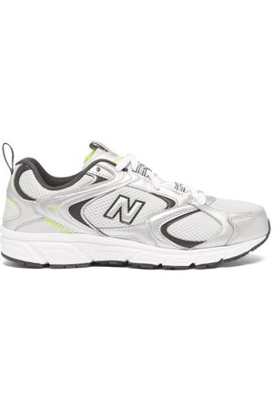 New Balance Women Sneakers - 408 Faux-leather And Mesh Trainers - Womens