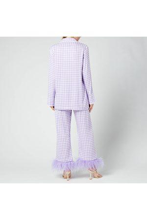 Sleeper Women Pajamas - Women's Party Pyjama Set With Feathers