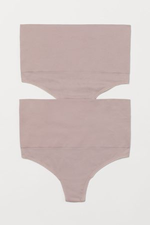 H&M 2-pack Firm Shaping Thongs