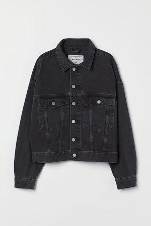 H&M Women Denim Jackets - Oversized Denim Jacket