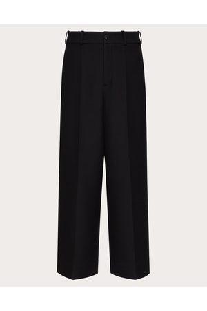 VALENTINO Men Pants - Compact Double Wool Pants Man 99% Virgin Wool 1% Silk 44