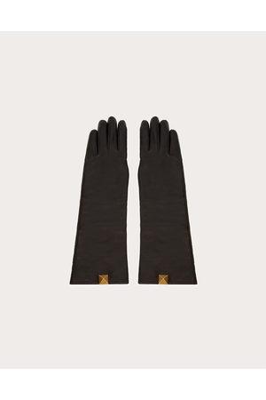 VALENTINO GARAVANI Women Gloves - Roman Stud Nappa Gloves Women 100% Lambskin 7.5