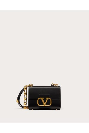 VALENTINO GARAVANI Women Shoulder Bags - Stud Sign Grainy Calfskin Shoulder Bag Women 100% Pelle Di Vitello - Bos Taurus OneSize