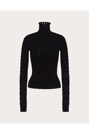 VALENTINO Women Tops - Stretched Viscose Top Women 75% Viscose 25% Polyester M