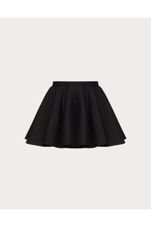 VALENTINO Women Mini Skirts - Crepe Couture Skirt Women 65% Virgin Wool 35% Silk 36