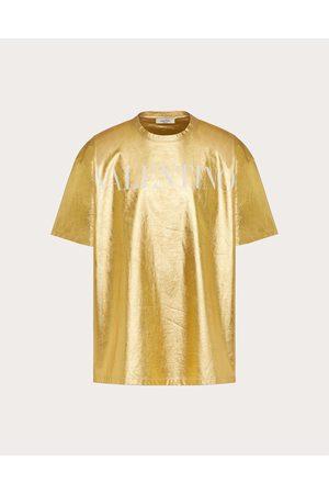 VALENTINO Men T-shirts - Cotton T-shirt With Valentino Print Man 100% Cotton L
