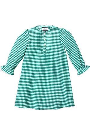 Petite Plume Girls' Gingham Beatrice Flannel Nightgown - Baby, Little Kid, Big Kid