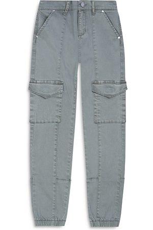 Joes Jeans Girls' The Ellie Cotton Blend Cargo Jogger Pants - Big Kid
