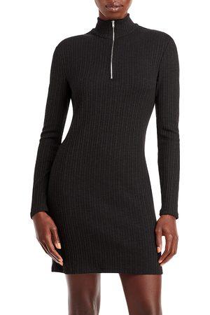 Aqua Turtleneck Mini Dress - 100% Exclusive