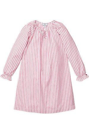 Petite Plume Girls' Antique Ticking Delphine Nightgown - Baby, Little Kid, Big Kid