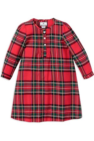 Petite Plume Girls' Imperial Tartan Beatrice Flannel Nightgown - Baby, Little Kid, Big Kid