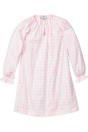 Petite Plume Girls' Gingham Delphine Nightgown - Baby, Little Kid, Big Kid