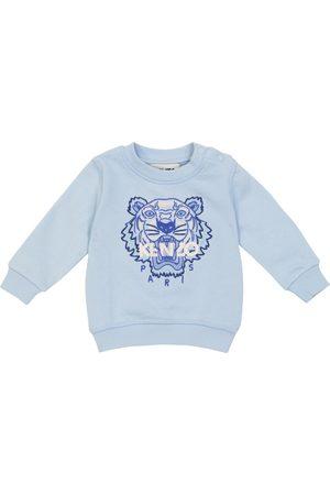 KENZO Kids Baby logo embroidered sweatshirt