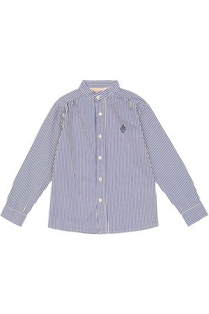 The Animals Observatory Scorpion pinstriped cotton shirt