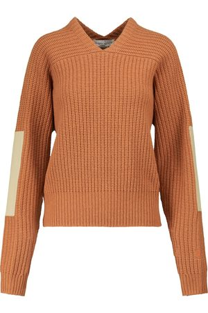 Victoria Beckham V-neck wool sweater